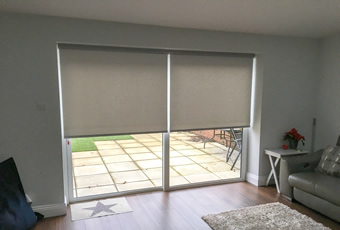 Electric Roller Blinds Winchester Blinds and Shutters Alresford Hampshire