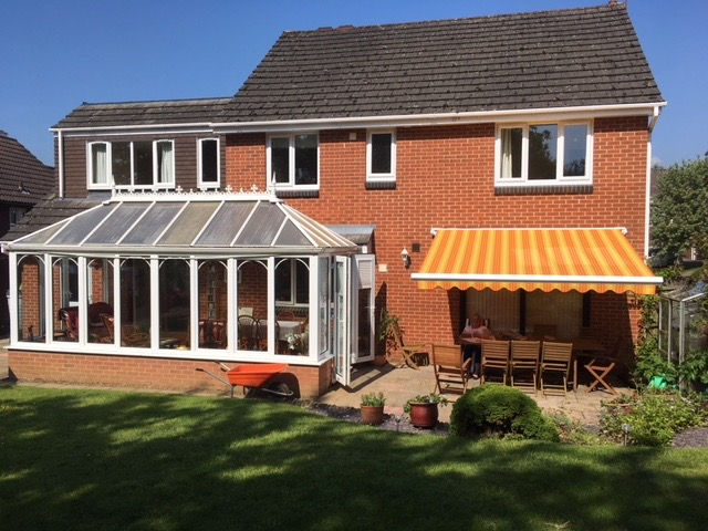 Awnings and Canopies by Winchester Blinds and Shutters