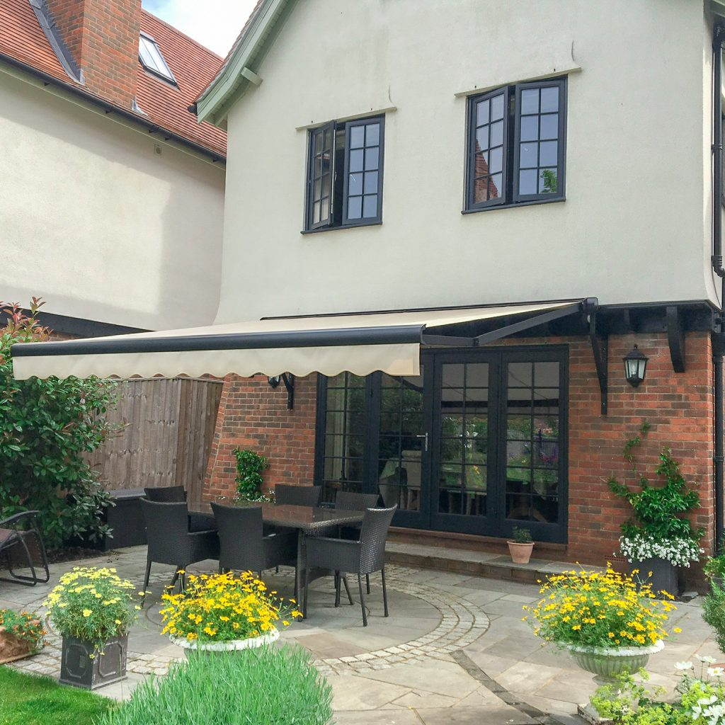 Motorised Awning Winchester Blinds and Shutters